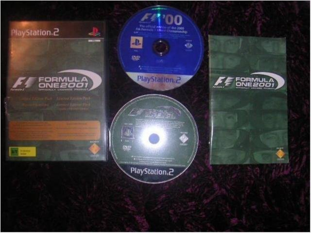 FORMULA ONE 2001 PLAYSTATION 2