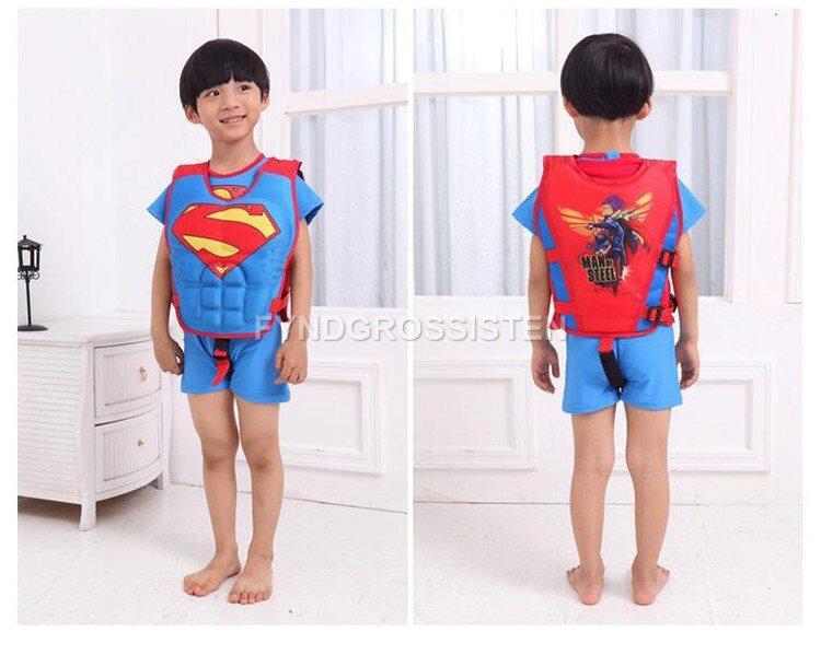 Flytväst Flytväst Flytväst Simväst Superman Simma Bada Sommar Helt Nytt 6430d2