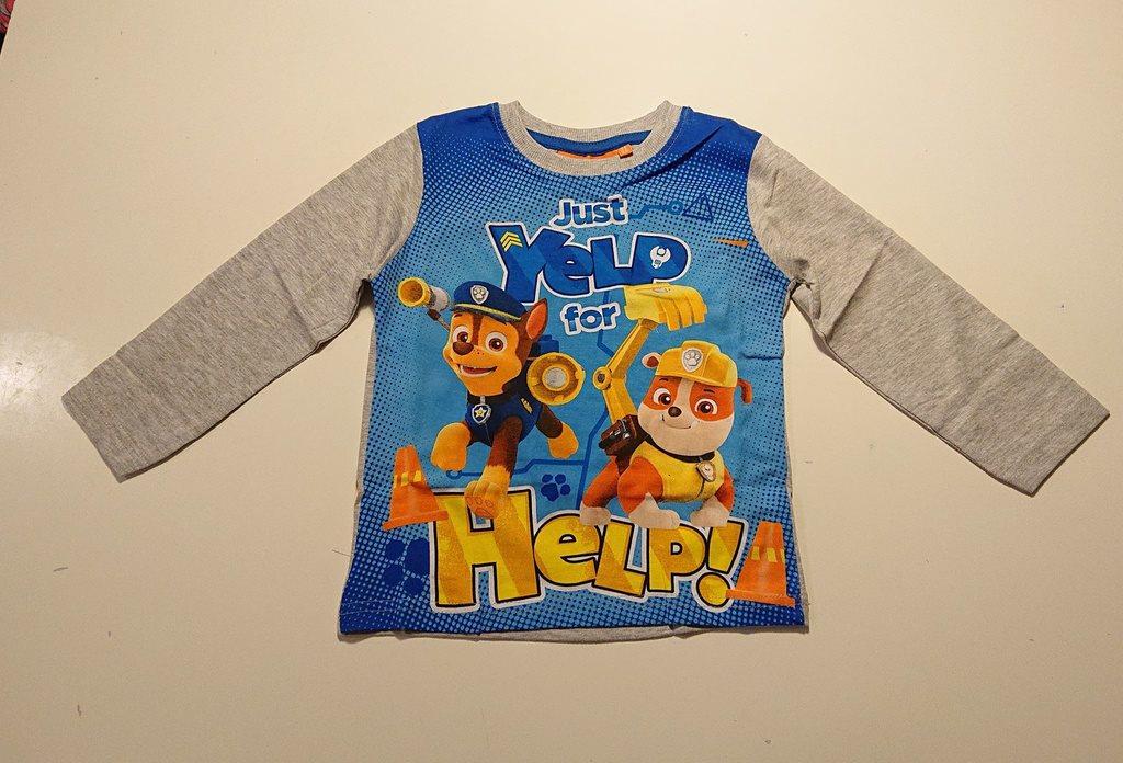Paw patrol Långärmad tröja T shirt Strl 98