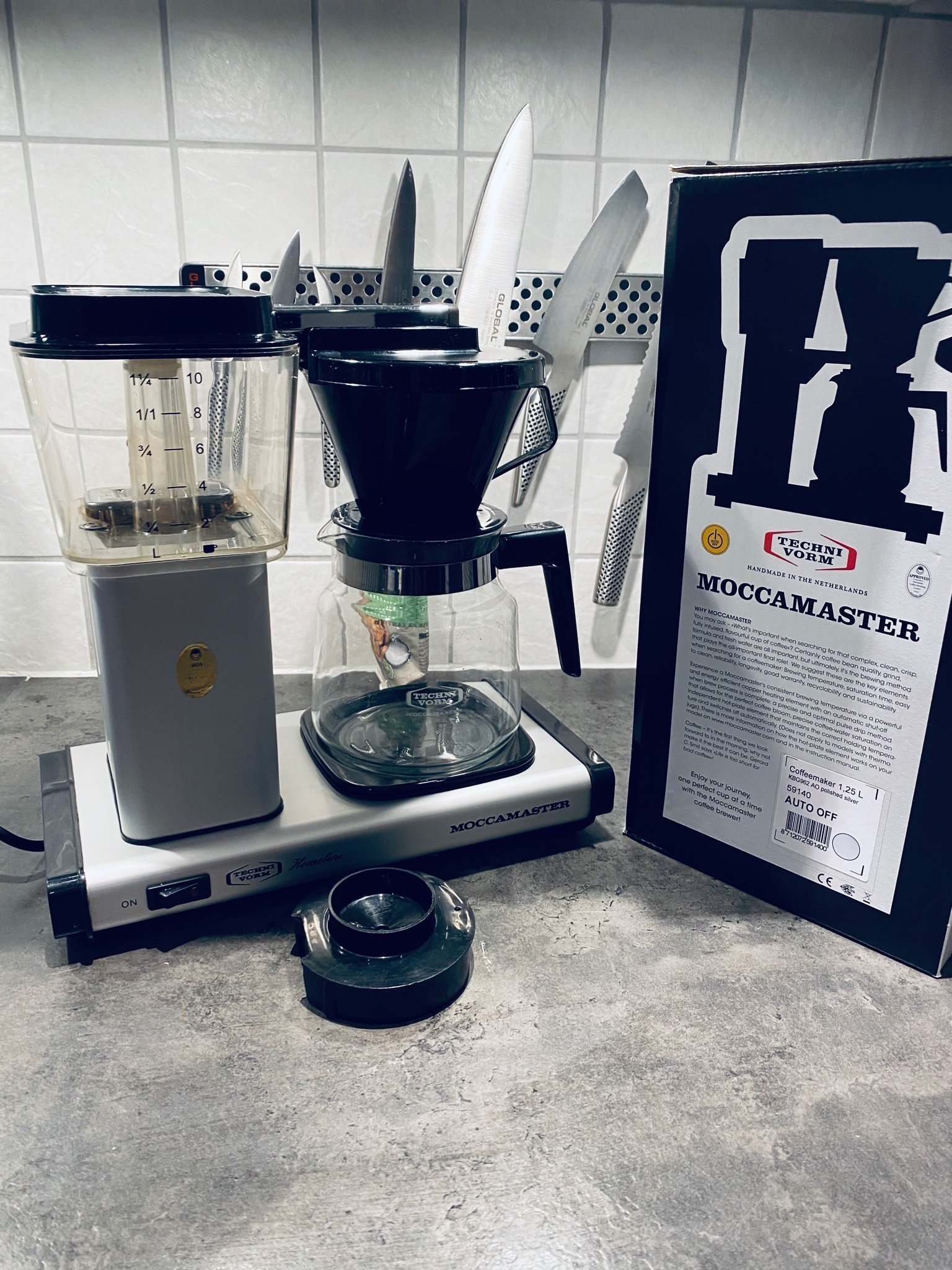 Moccamaster Kaffebryggare Moccamaster Homeline H741