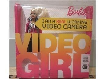 BARBIE VIDEO GIRL Barbie Docka med Riktig Videokamera i sig SISTA
