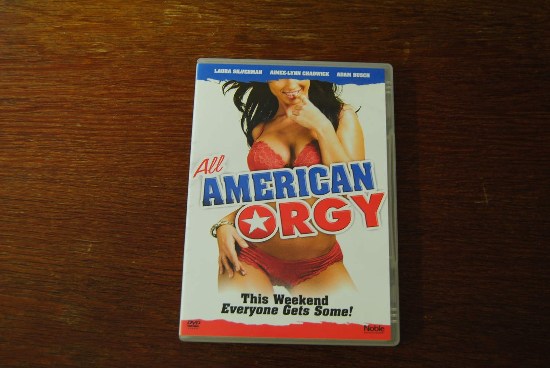All American Orgy dvd-film: all american orgy (laura silverman)
