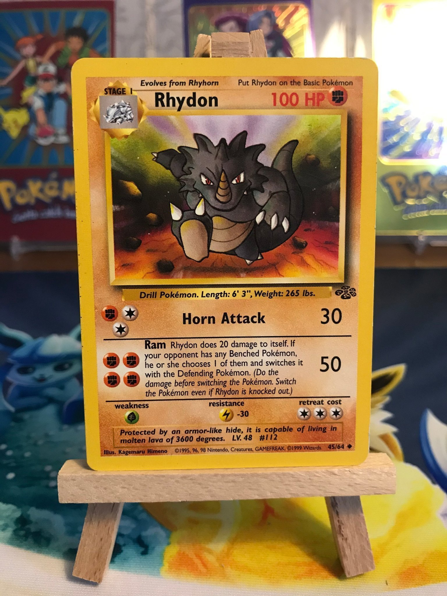 Rhydon - 45/64 Jungle - Pokemon kort