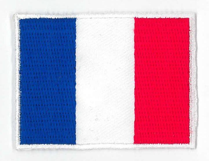 färgerna på franska flaggan