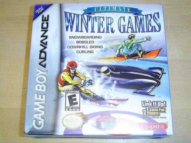 ULTIMATE WINTER GAMES NINTENDO GAMEBOY ADVANCE *NYTT*
