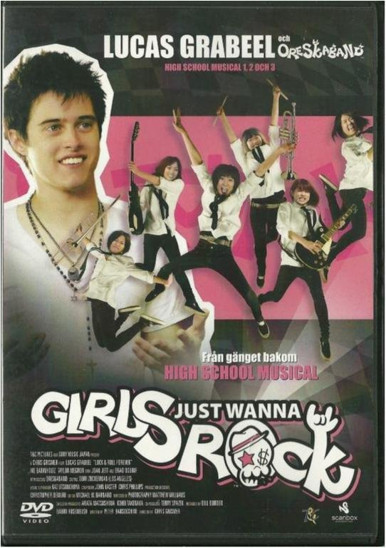 Girls just wanna rock - Lucas Grabeel/Oreskaband - Exhyr