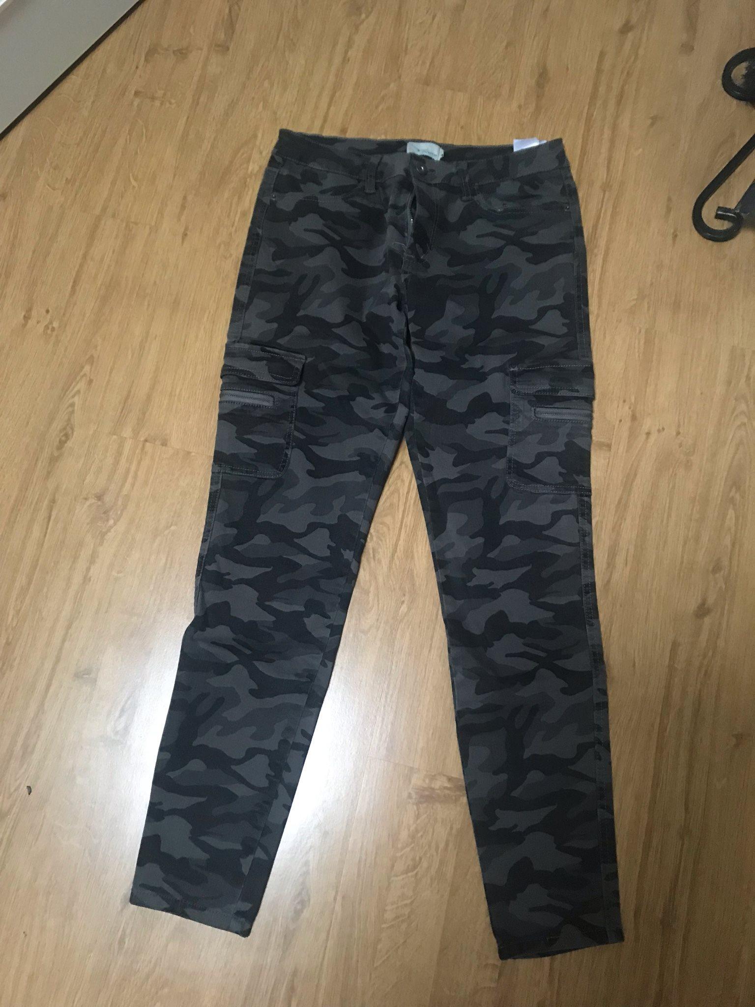 Camouflagefärgade jeans med fickor (337899464) ᐈ Köp på Tradera e40faf80791b3
