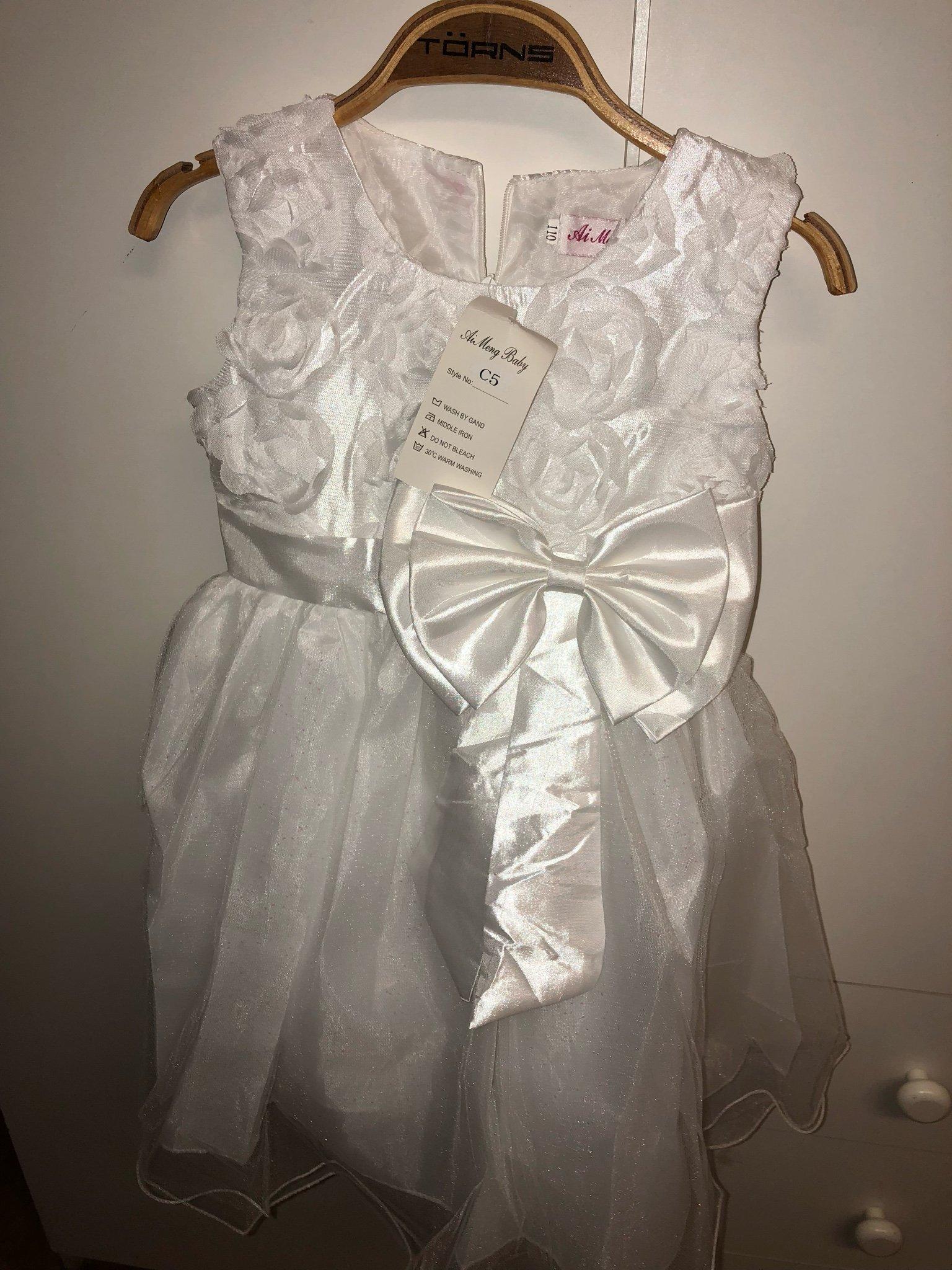 a105161b29e6 Klänning/ prinsessklänning/ brudnäbb strl 110 (347122086) ᐈ Köp på ...