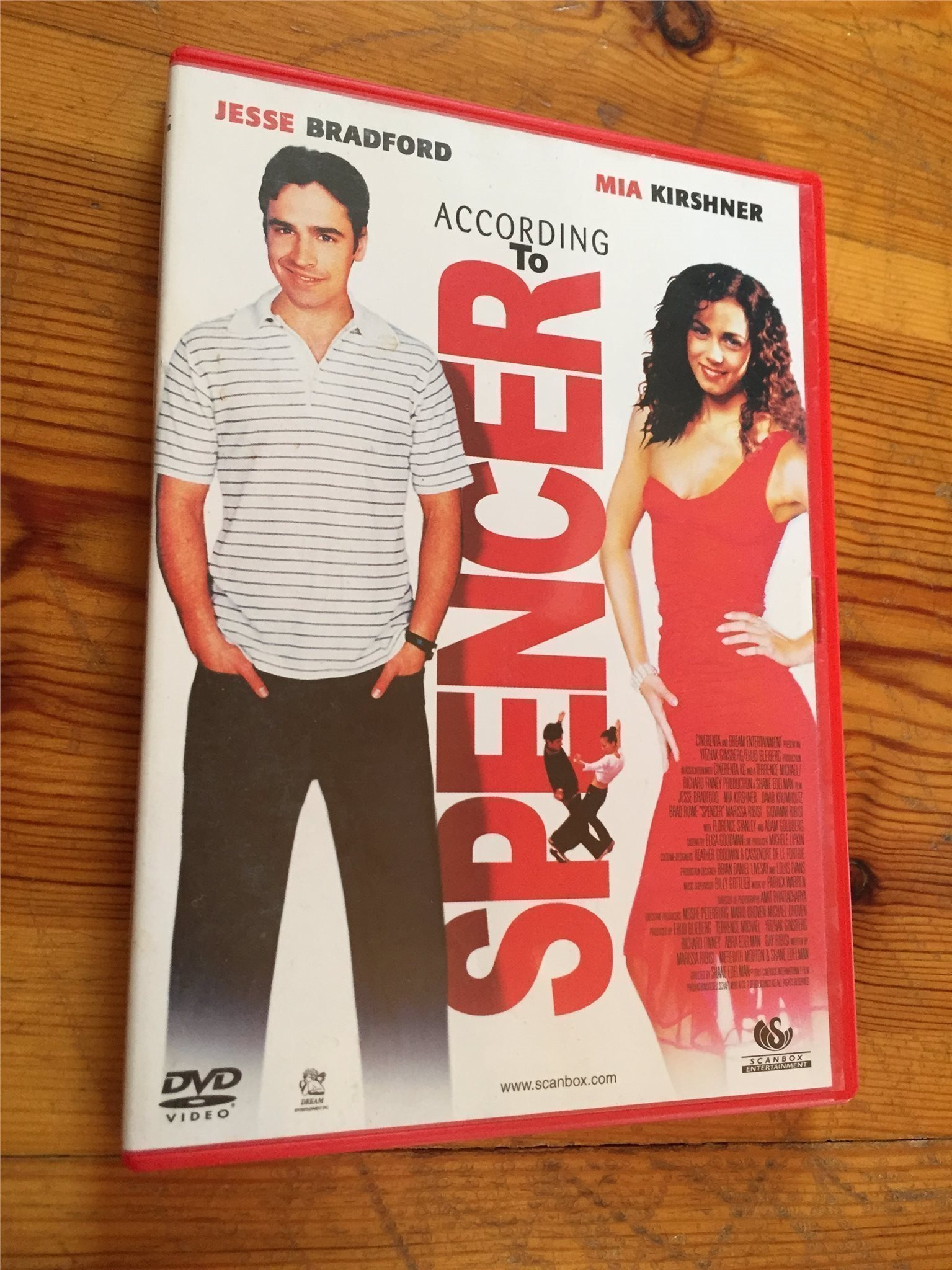 According to Spencer - Jesse Bradford - (original DVD)