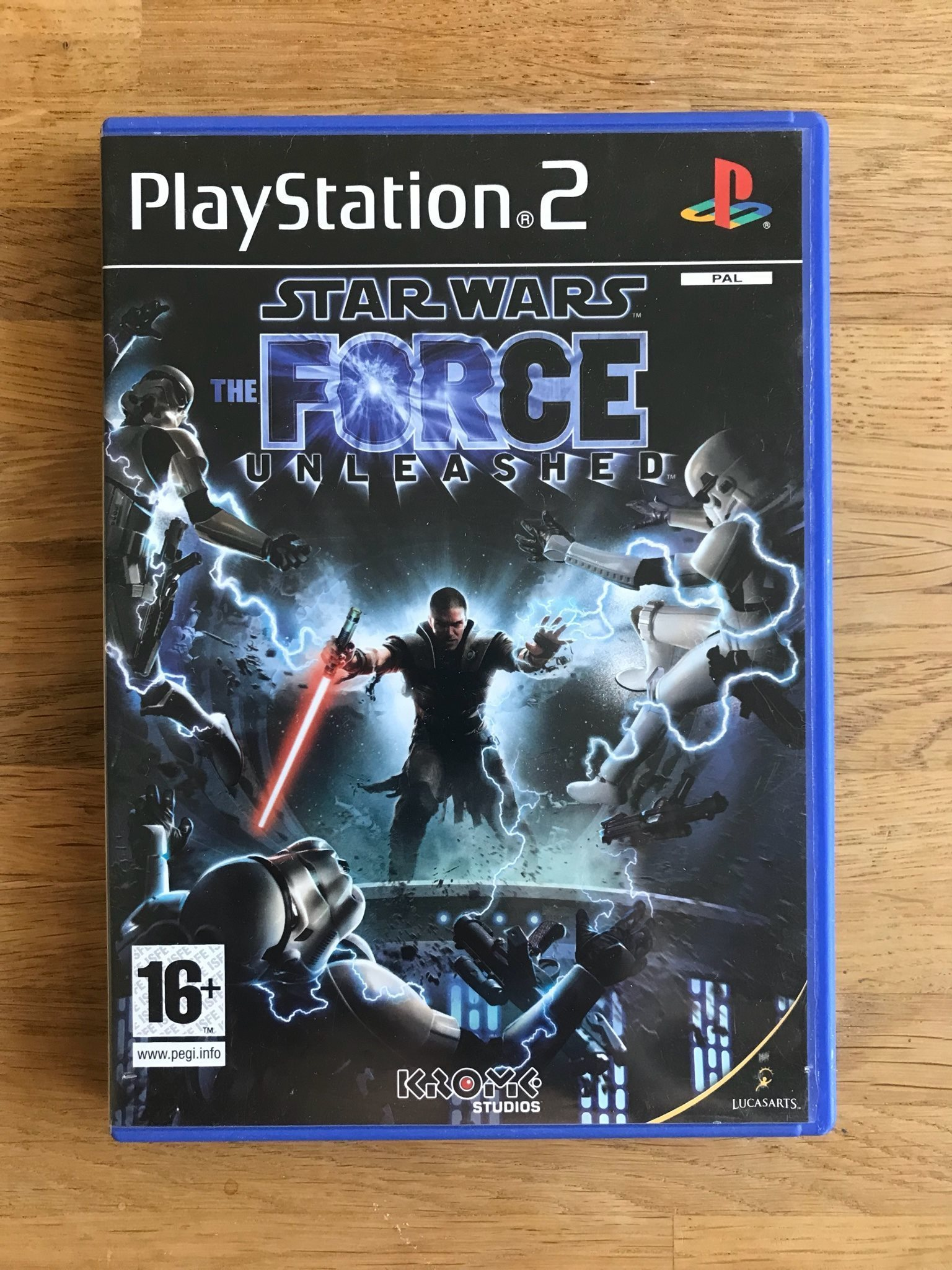 star wars the force unleashed 2 ps2