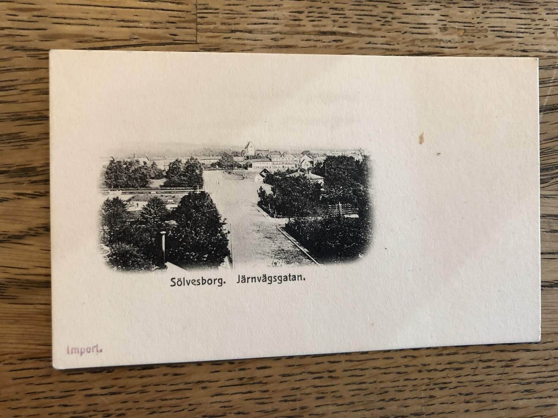 Litet Kort Utan Vykortsbaksida Fran S 386324399 ᐈ Nissed2018