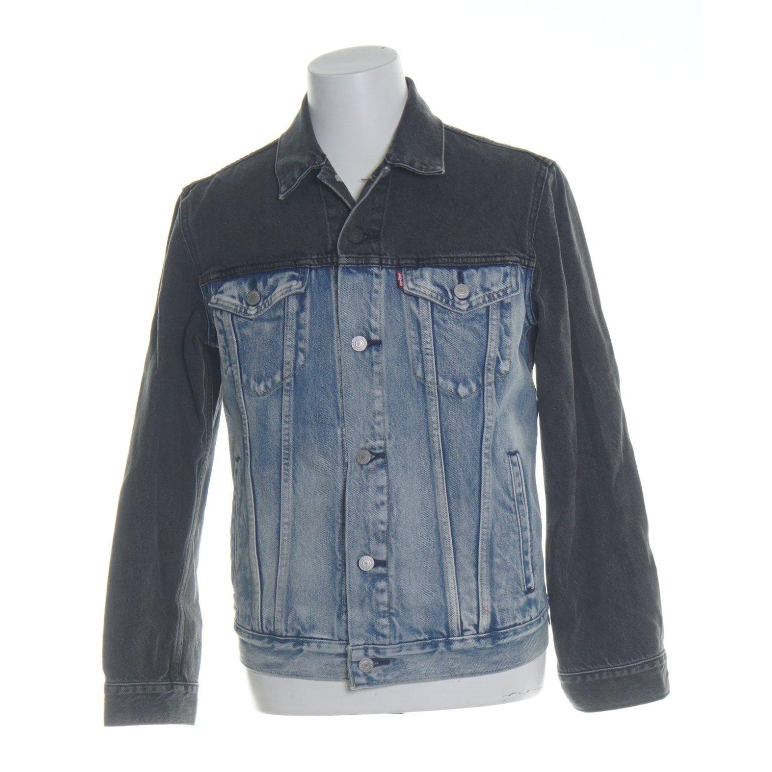 Levis trucker jeansjacka blå svart strl M (407276506) ᐈ Köp
