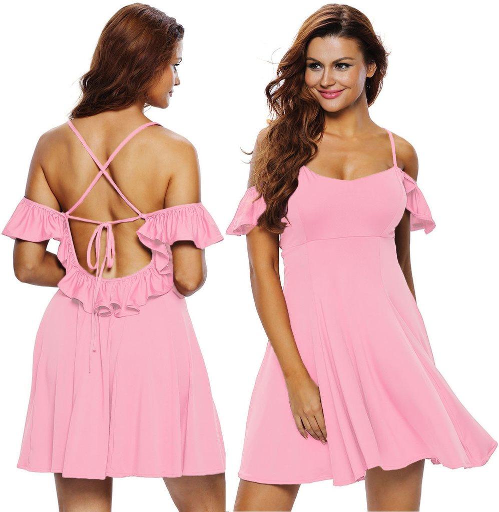 3131419bc5fd NY XL KlÄnnIng SommarKlännning ROSA STUDENT Dress Fleur Romantisk Summer  Vintage