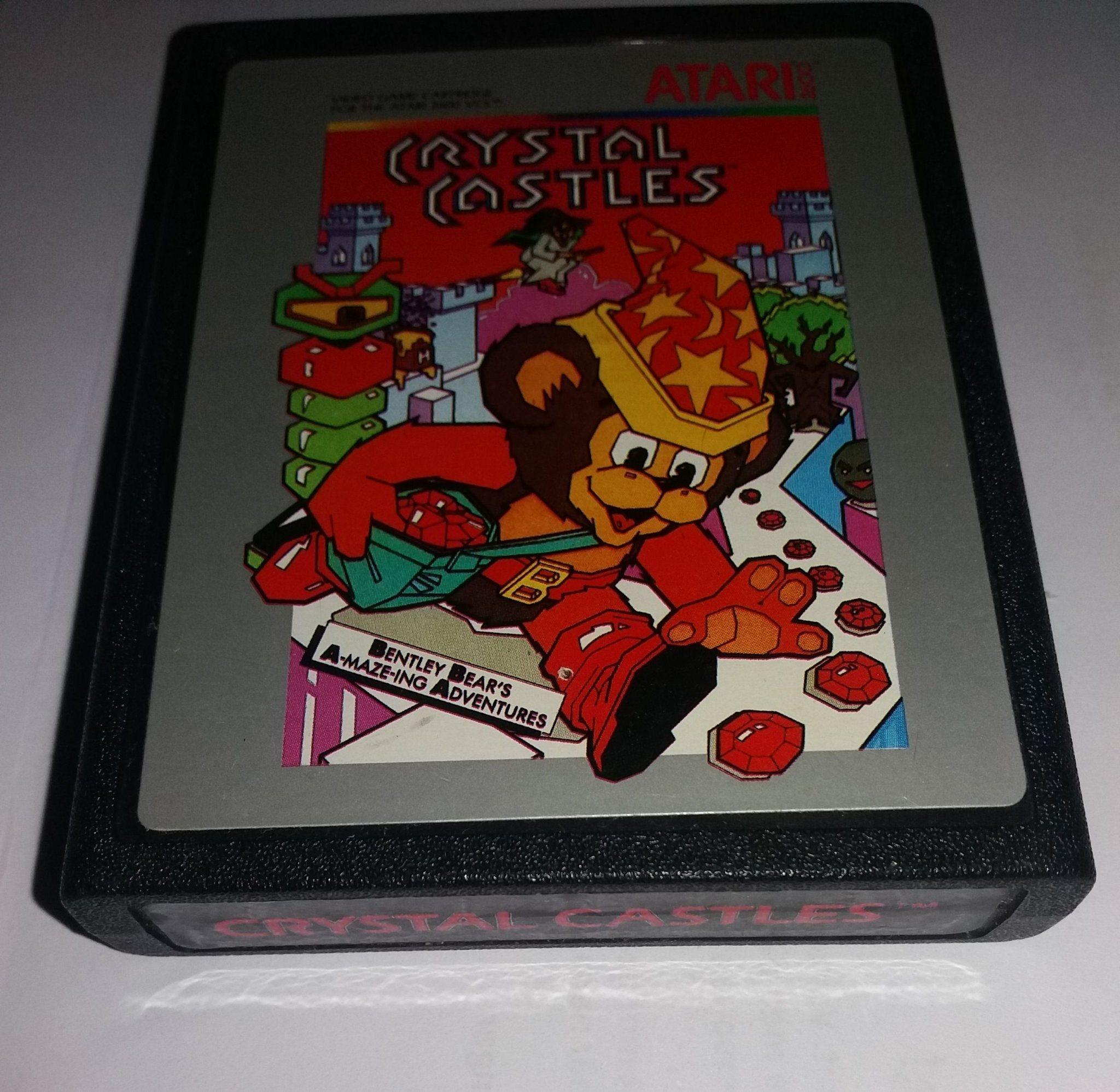 Crystal Castles - Atari 2600 (353587039) ᐈ Köp på Tradera
