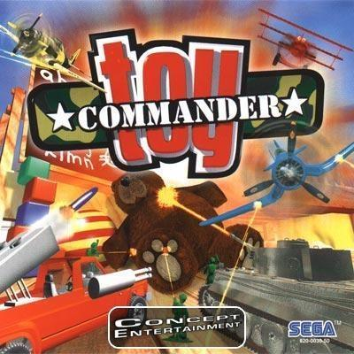 TOY COMMANDER (skiva + manual) till Sega Dreamcast