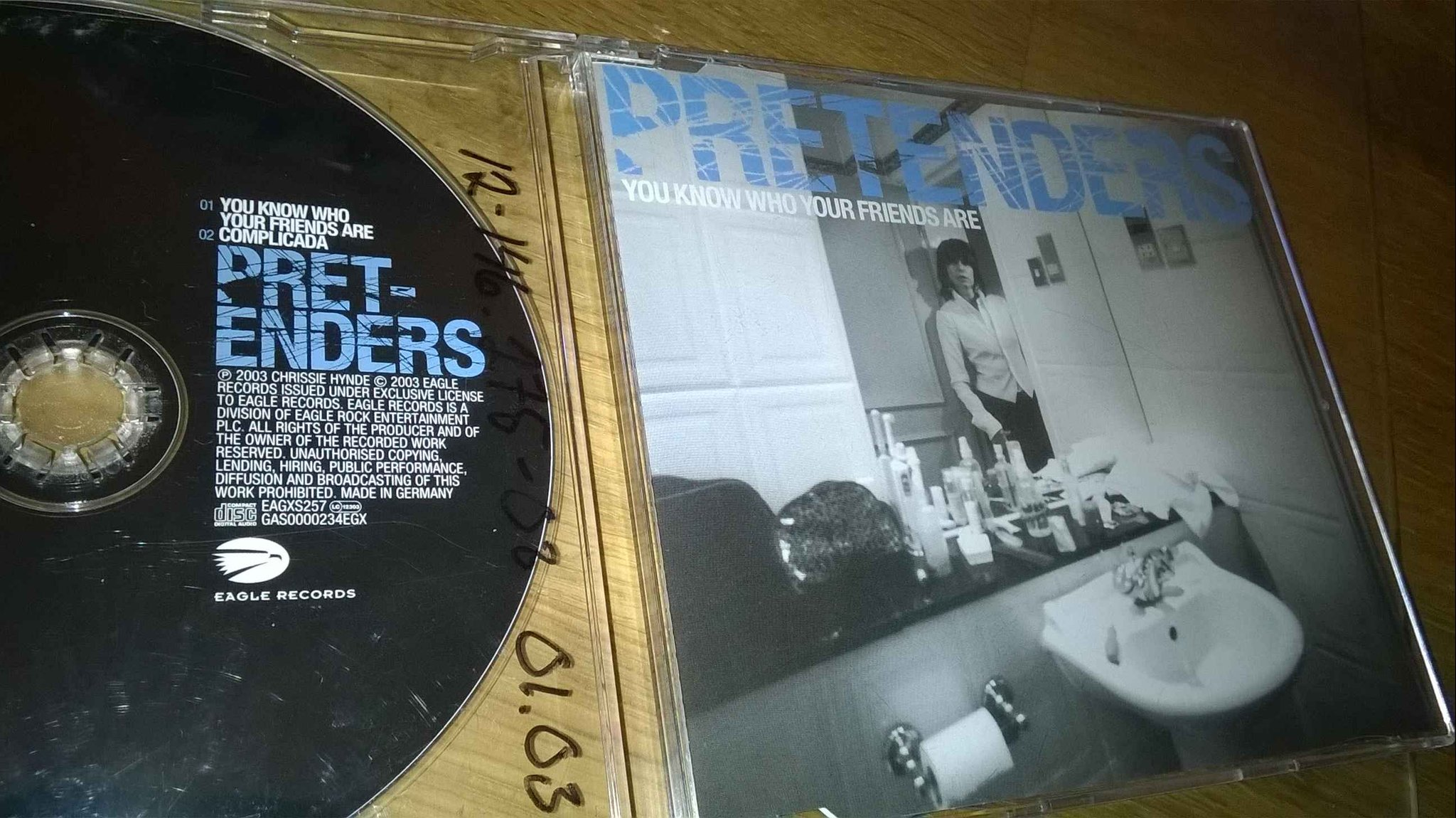 Pretenders - You Know Who Your Friends Are, CD, Single