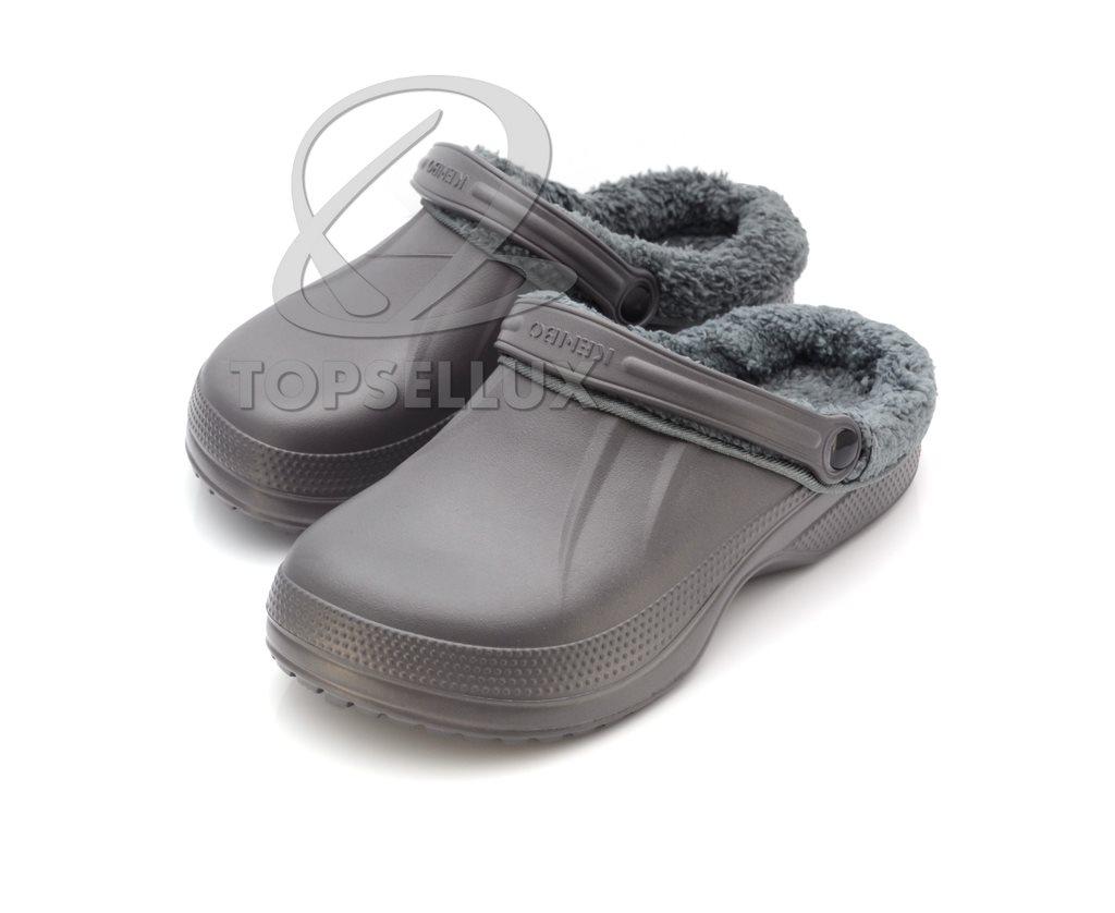 a846319b4a8d Nya vinter foppatofflor med foder teddyfoder fodrade tofflor herr skor stl  43 ...