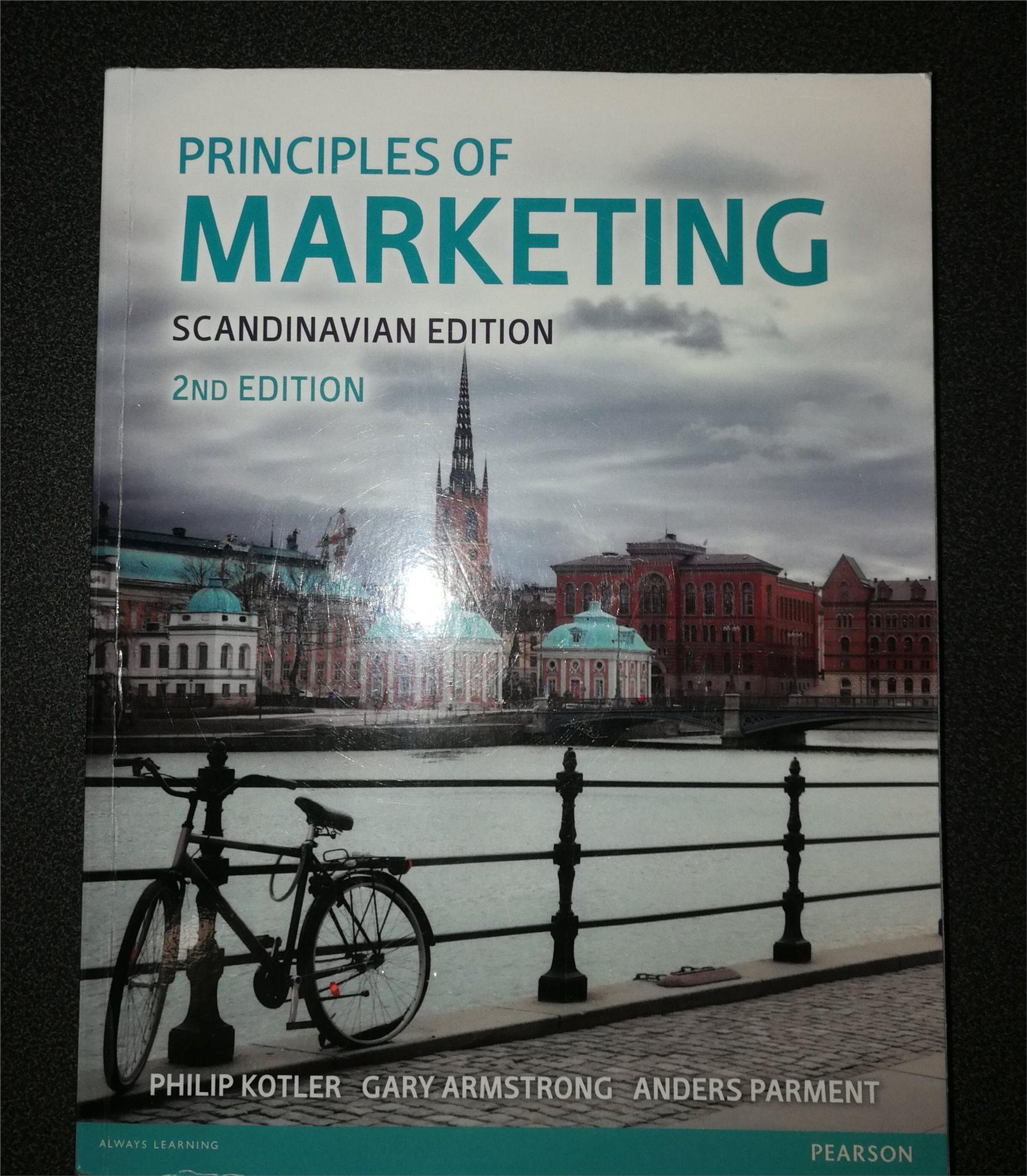 Principles of marketing (ISBN : 978-1-292-10480-5)