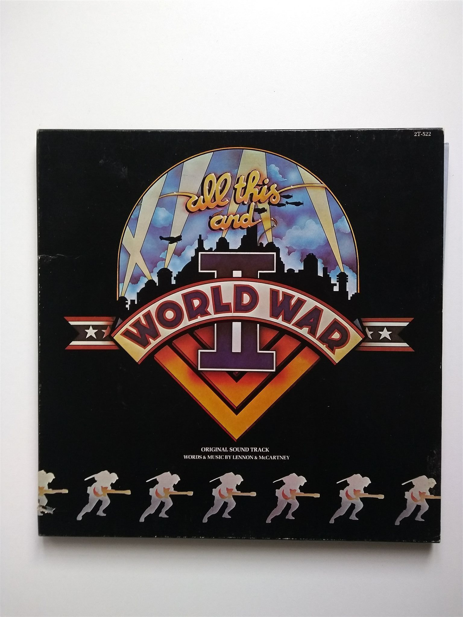 Vinyl LP box, All this and World War II