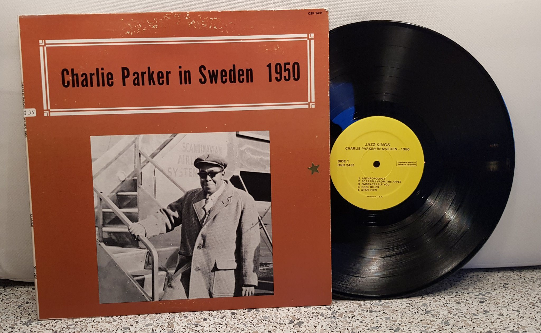 Charlie Parker – In Sweden 1950 (LP)