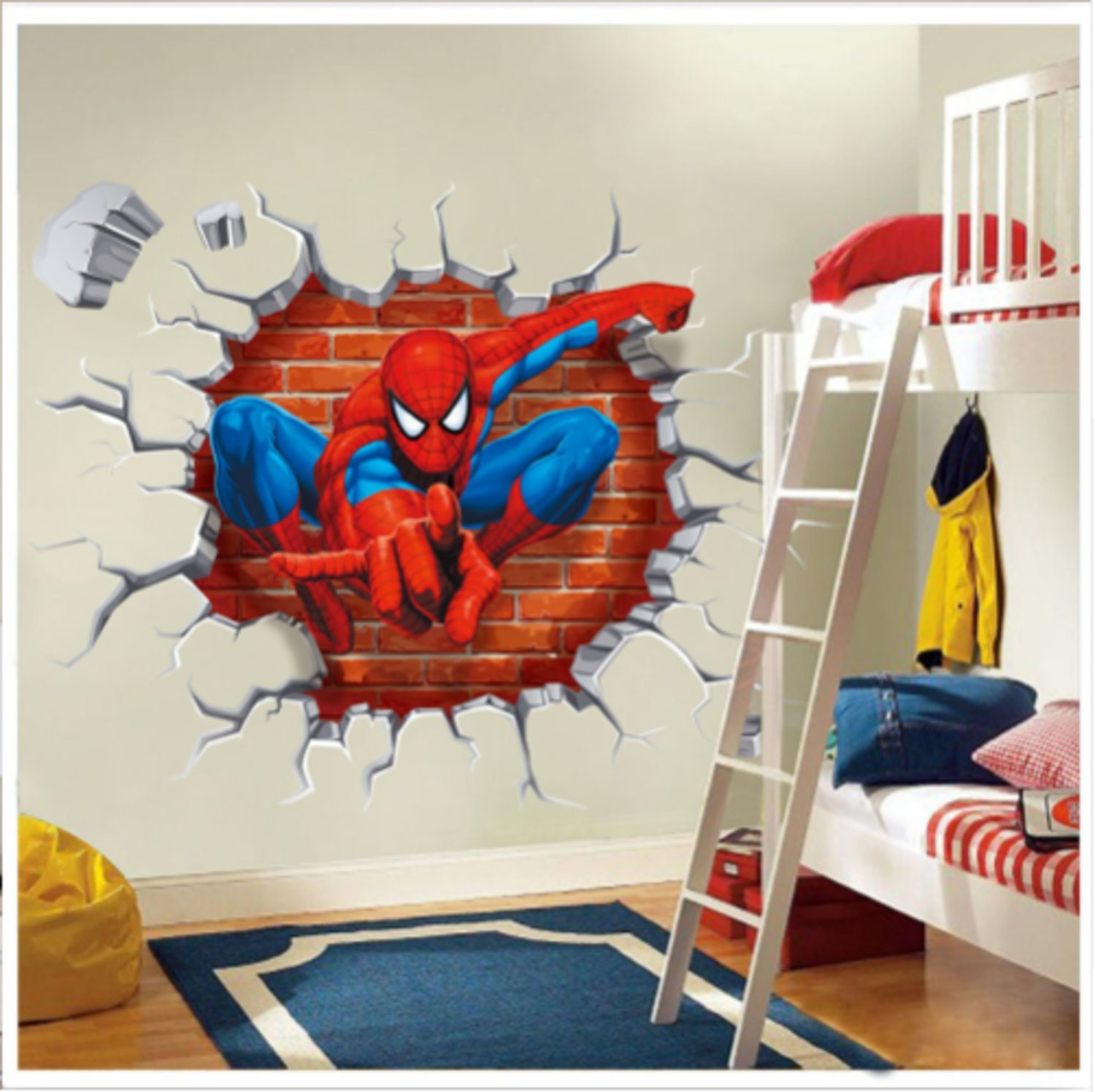 2018 45*50CM 3D Popular Spiderman Car...