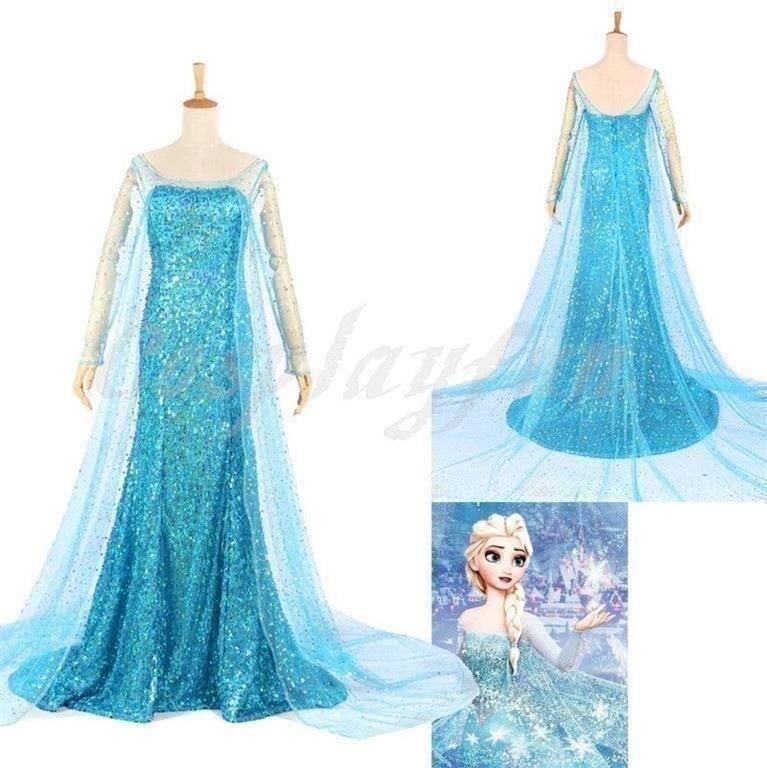 NY! Underbar Elsa klänning. Stl S (Vuxen) Fro.. (423512369
