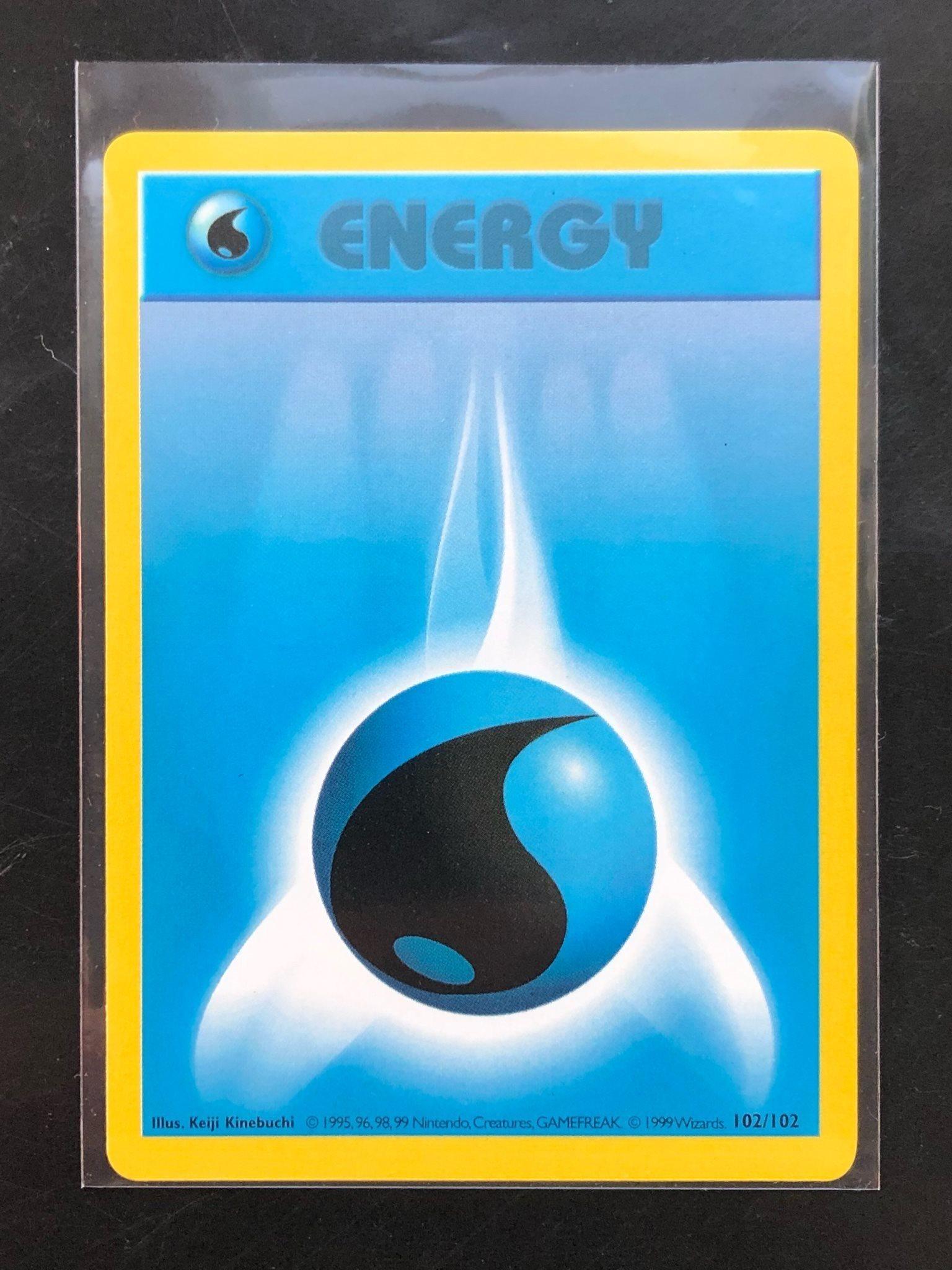 Pokemon Base Set Shadowless Card 97//102 Fighting Energy