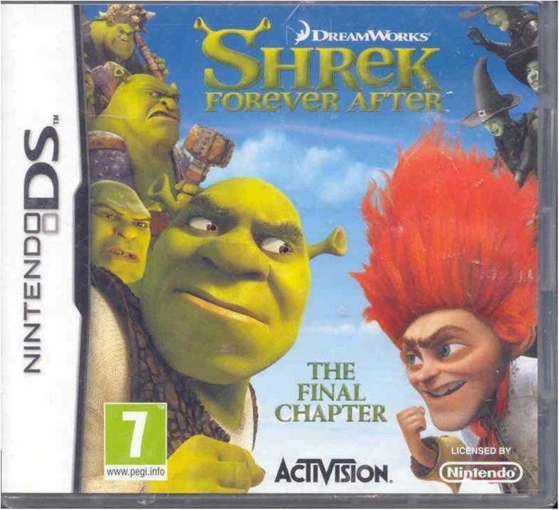 Shrek - Forever after - Ny & inplastad Nin. Ds
