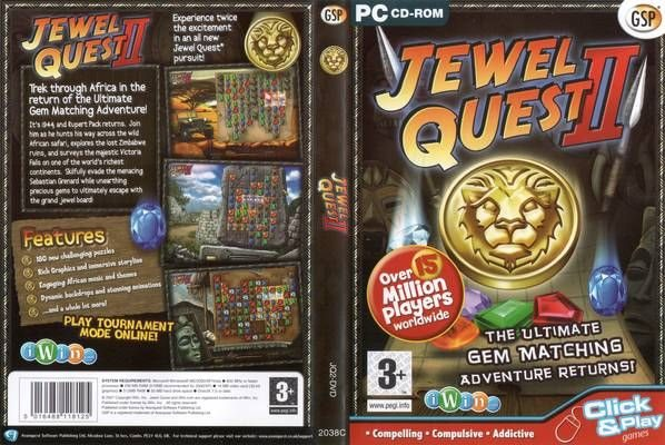 Jewel Quest II 2 - PC Spel