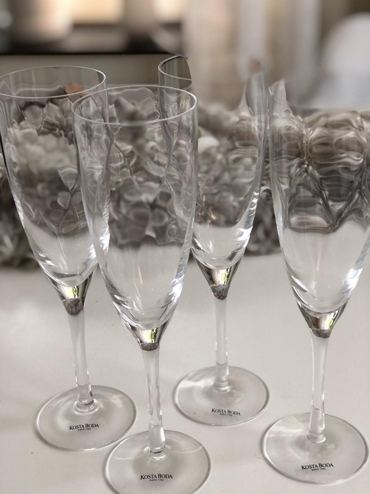 Utroligt Kosta Boda Chateau Champagneglas 4 st (343220899) ᐈ Köp på Tradera UJ94