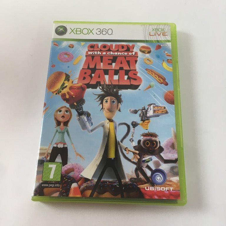 Cloudy with a chance of Meat Balls, TV-Spel, Xbox 360, Äventyr