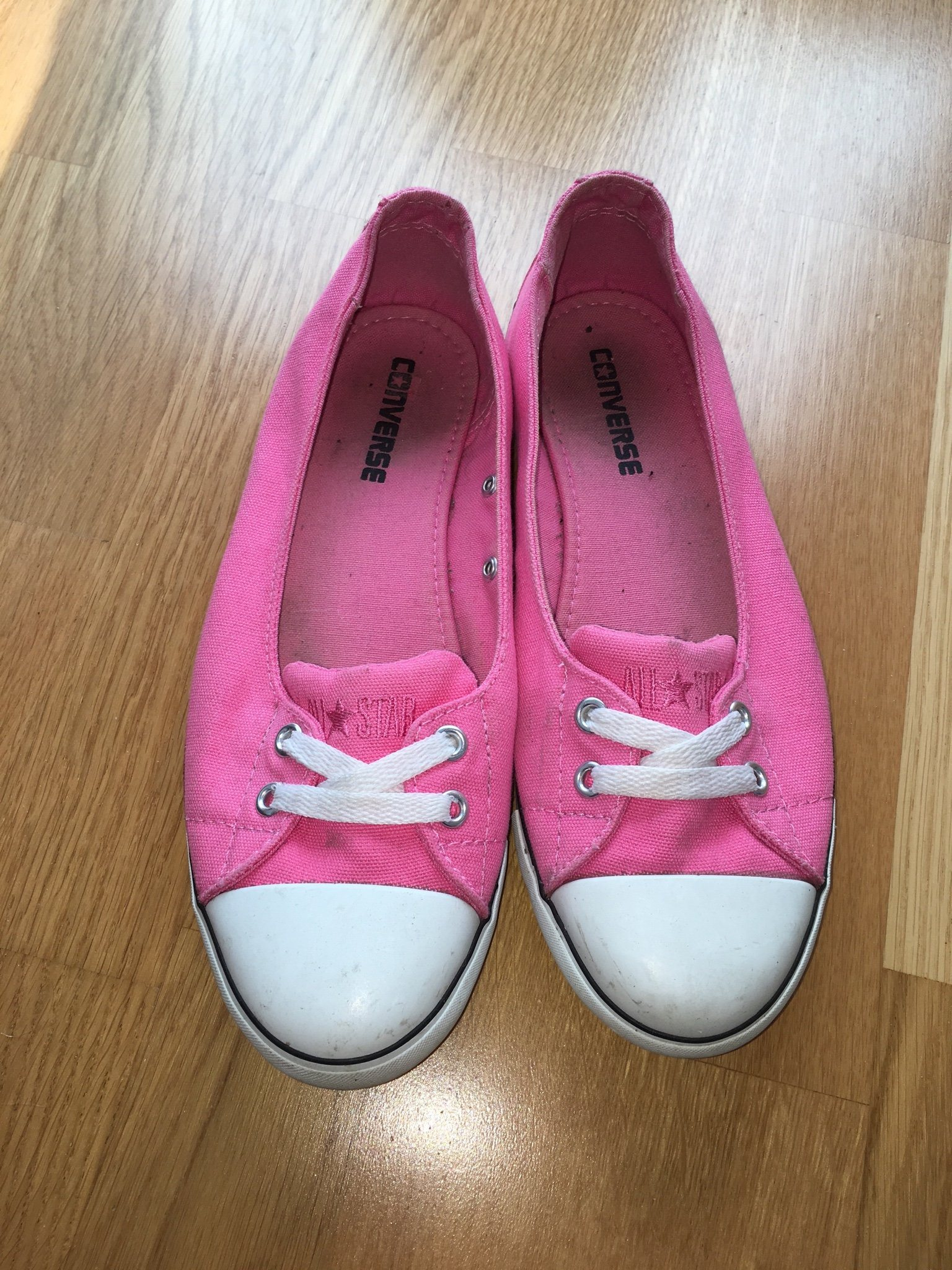 Converse Strl 39 Ballerina Skor Sko Sneakers Sn.. (348205259