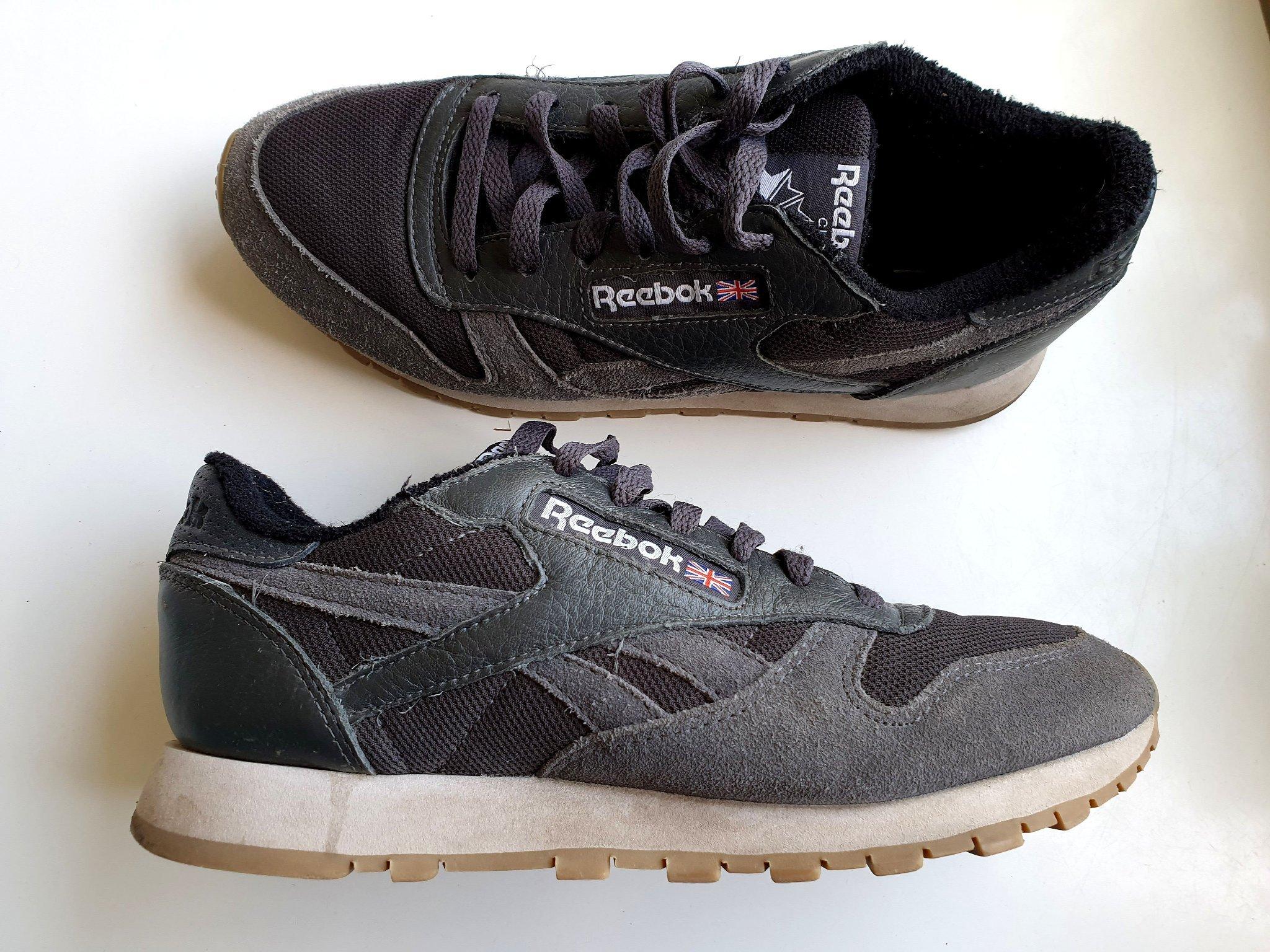 Reebok Classic original svarta med grå detaljer.. (404434829