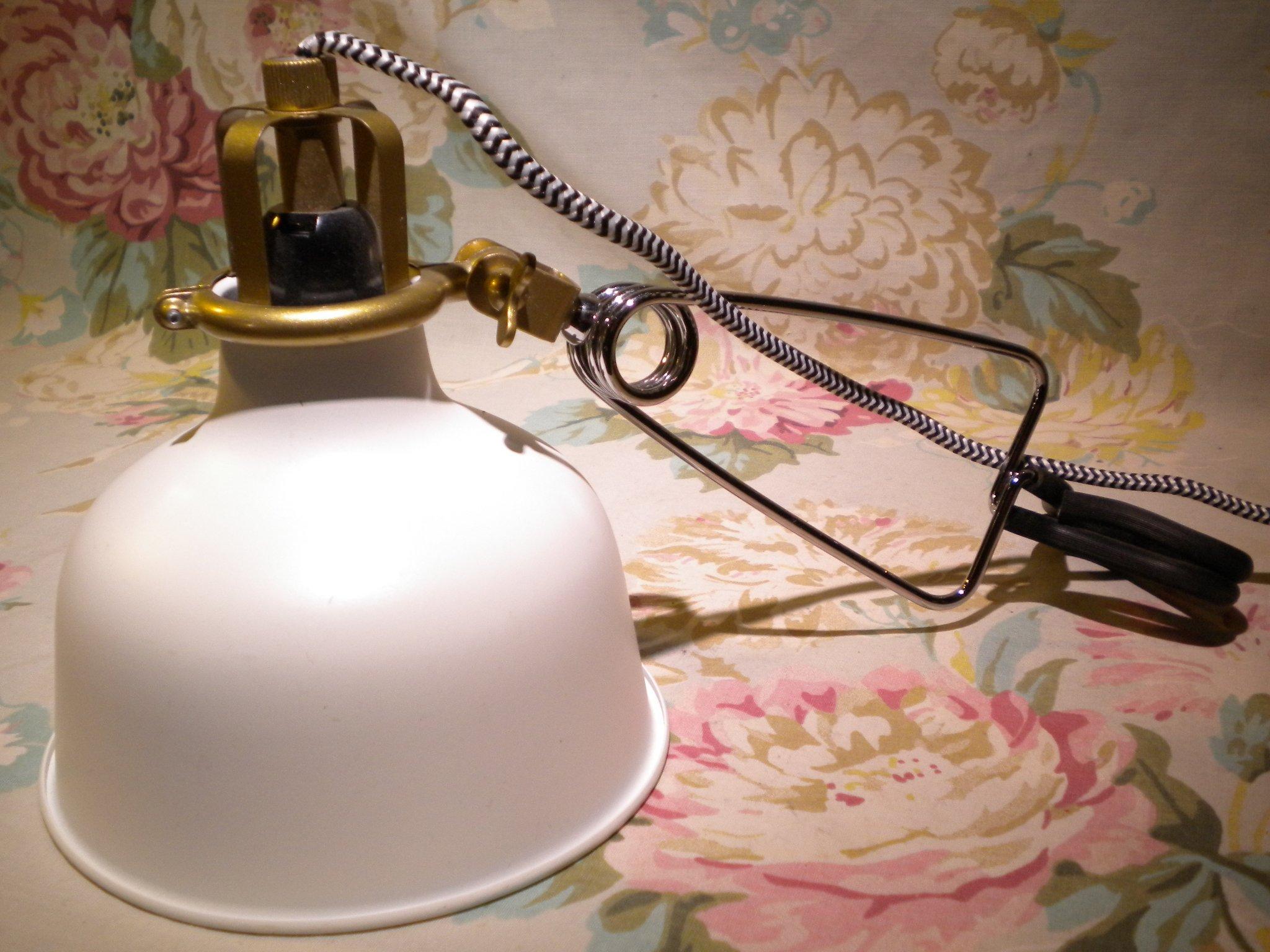 Ikea Lampa Klämlampa Ranarp
