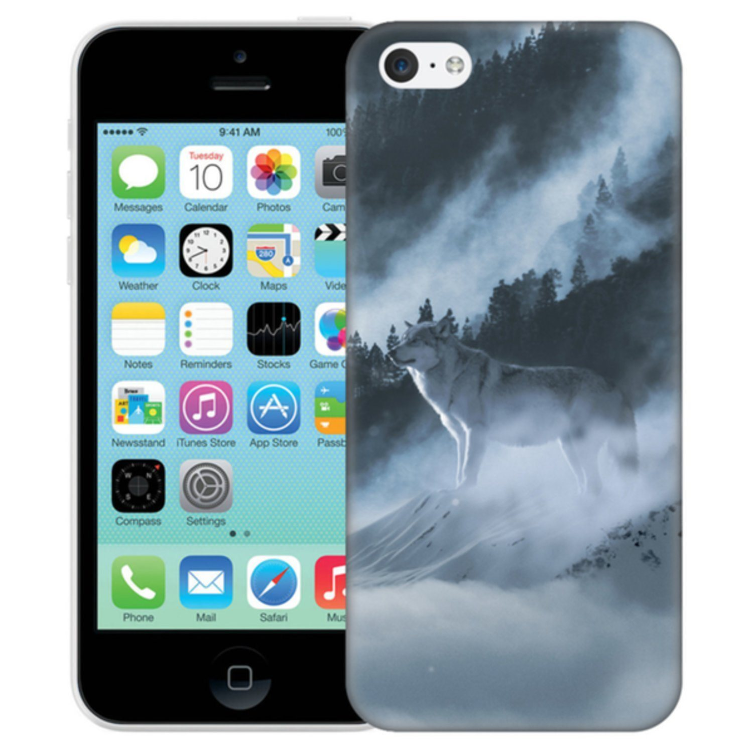 iPhone 5C Skal Arctic Wolf