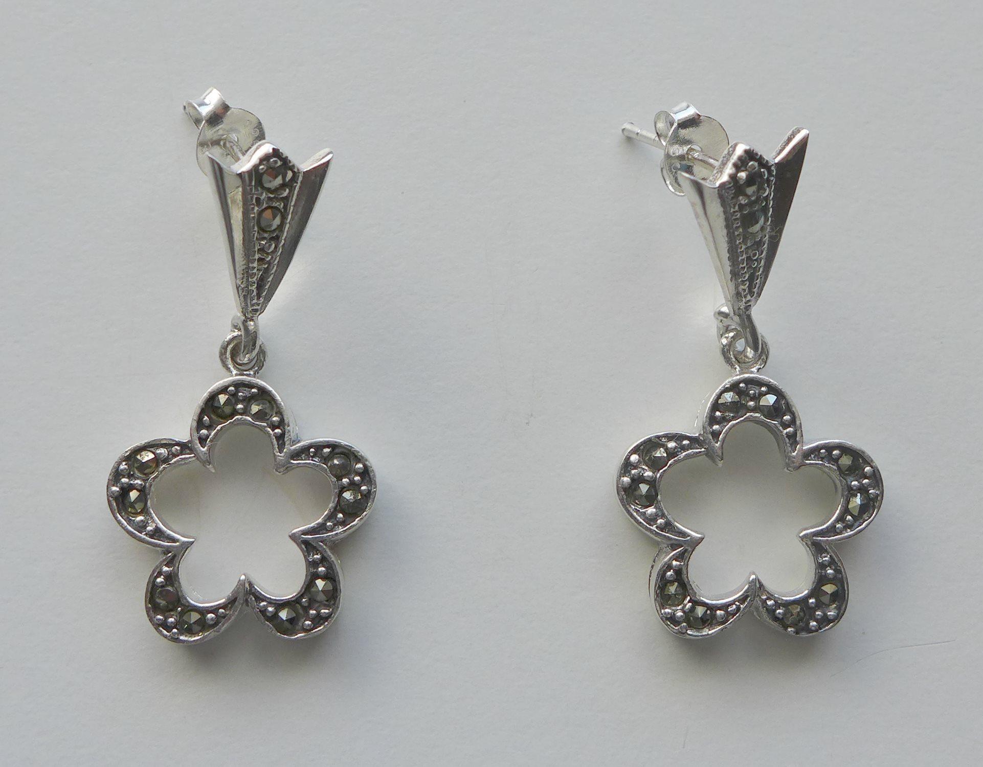 örhängen silver 925