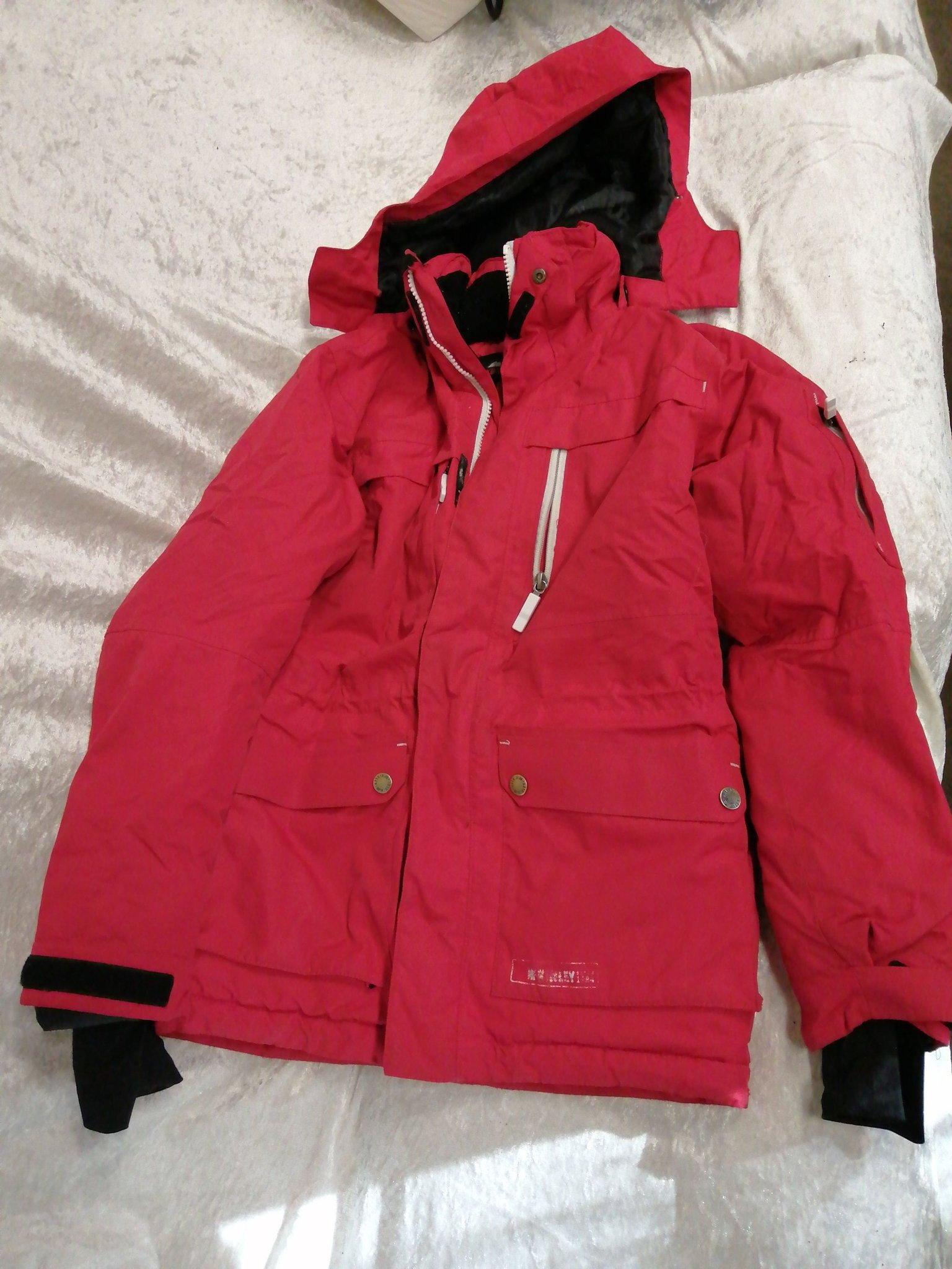 McKinley röd jacka stl 150 (420886190) ᐈ Köp på Tradera