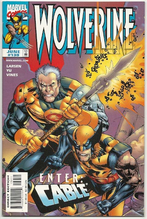 Wolverine # 139 VF-NM