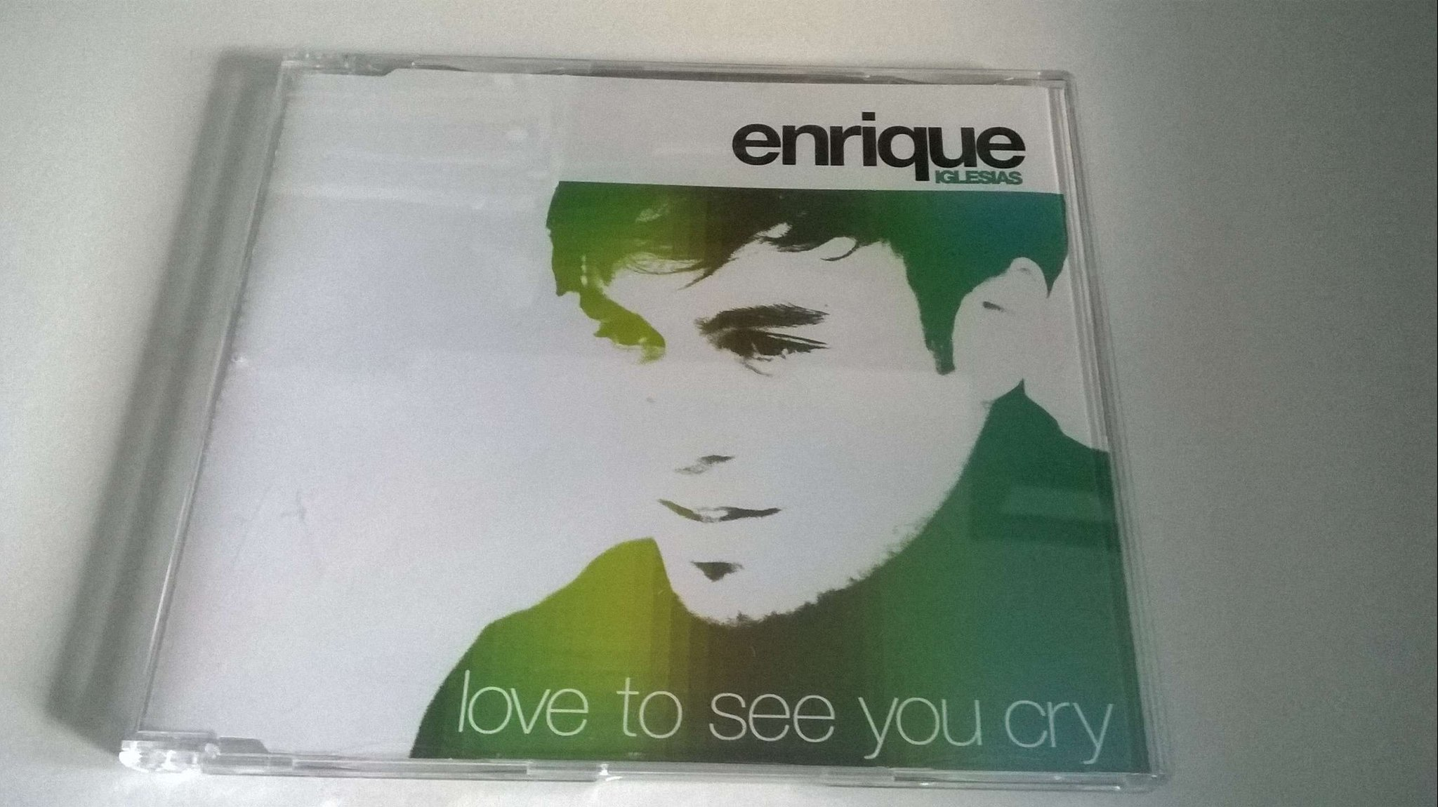 Enrique Iglesias - Love To See You Cry, CD