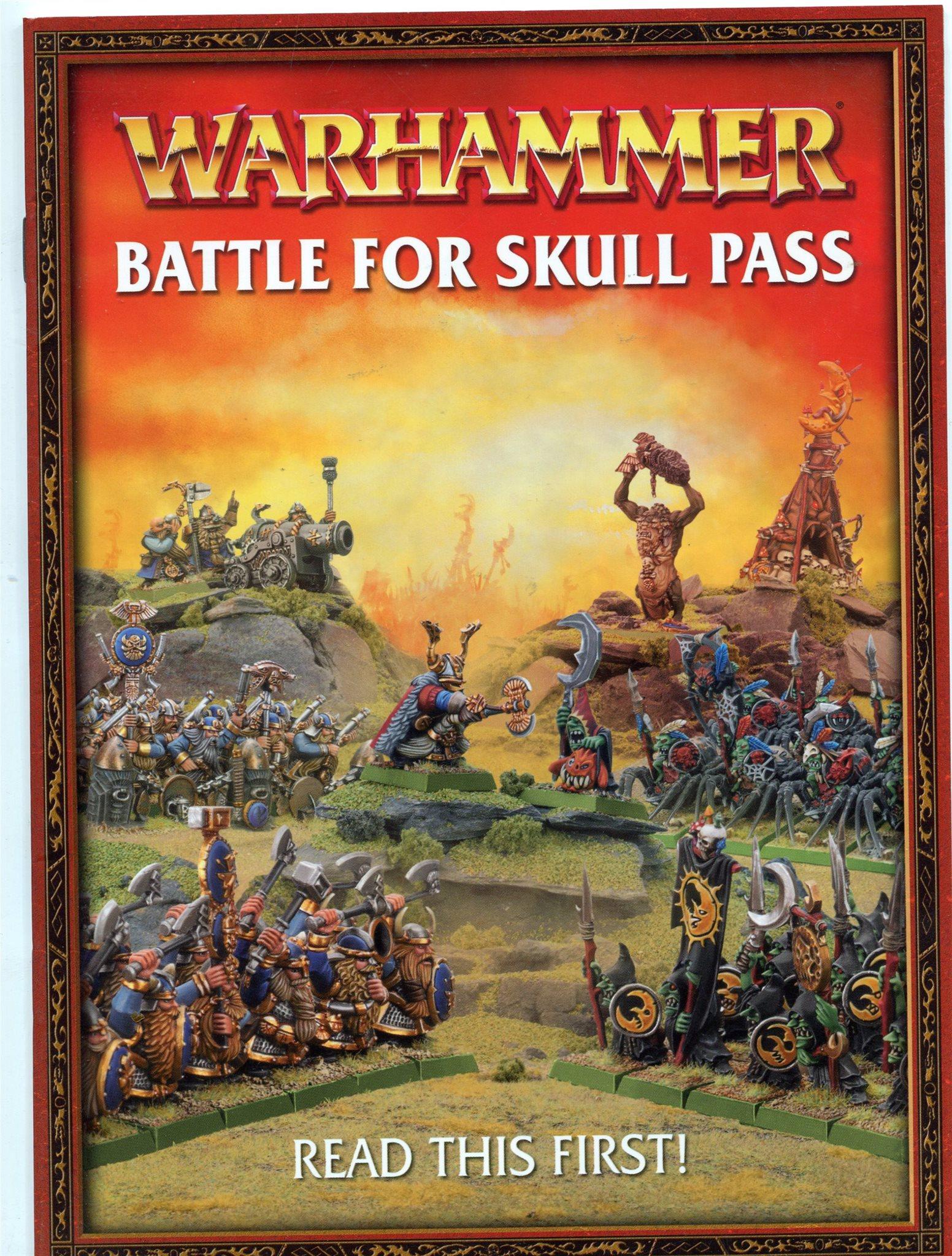 Warhammer Fantasy Battles Battle for skull pass   (346163242