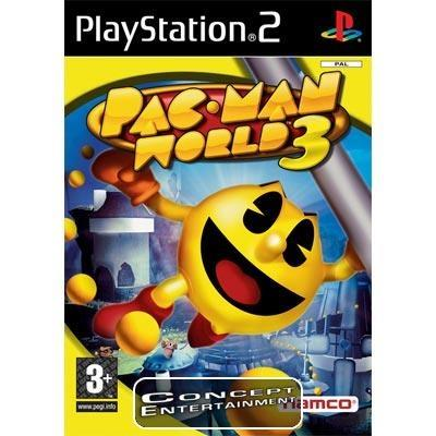 PAC-MAN WORLD 3 (komplett) till Sony Playstation 2, PS2