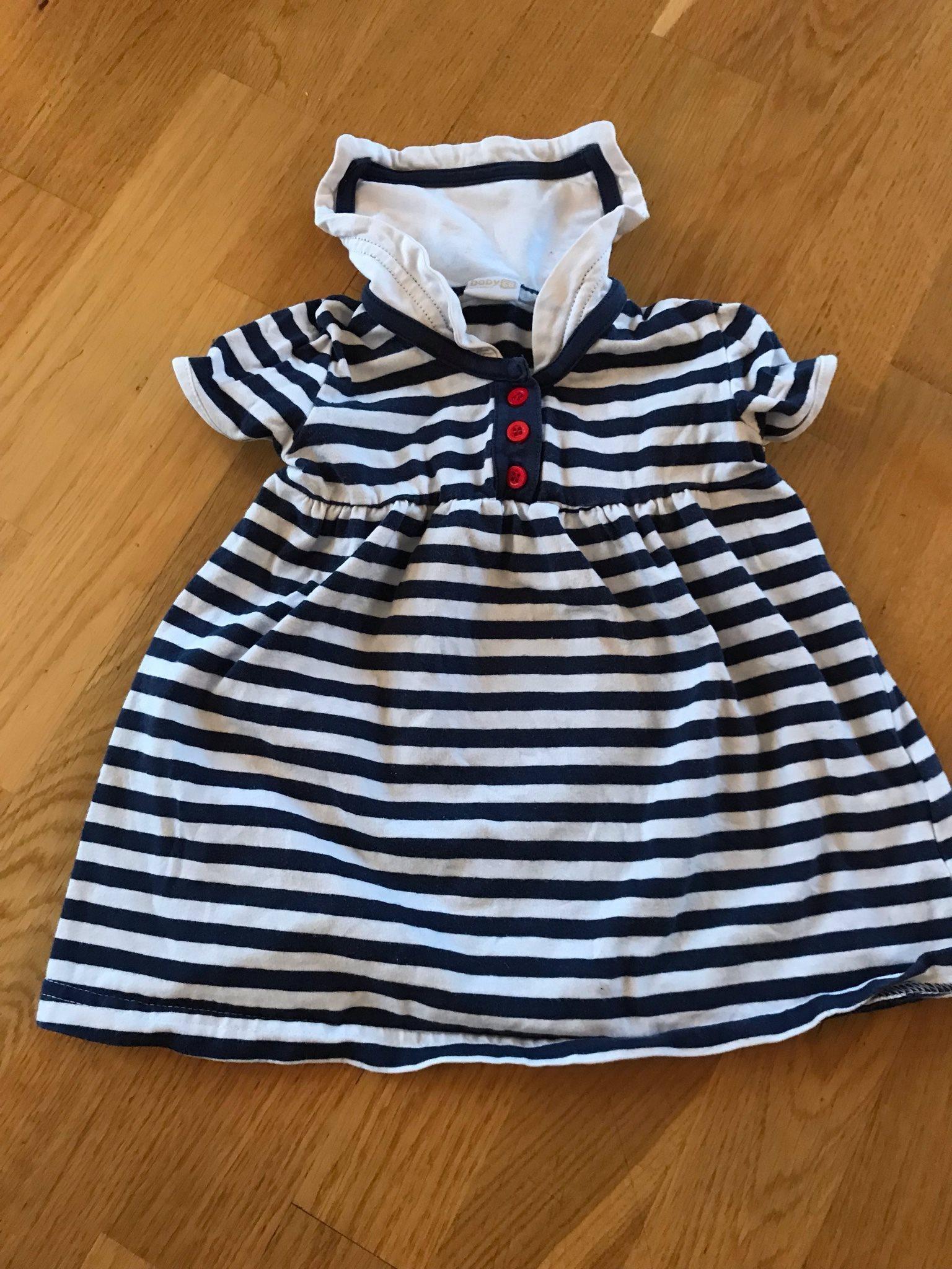 de94968f87e5 Blå- och vitrandig klänning från Lindex storlek.. (335782331) ᐈ Köp ...