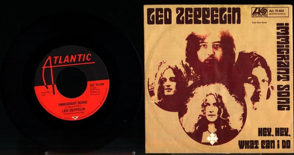 LED ZEPPELIN - IMMIGRANT SONG (355924852) ᐈ Lejonkungen61