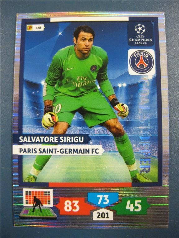 GOAL STOPPER : SALVATORE SIRIGU -  PARIS SG - CHAMPIONS LEAGUE 2013-2014