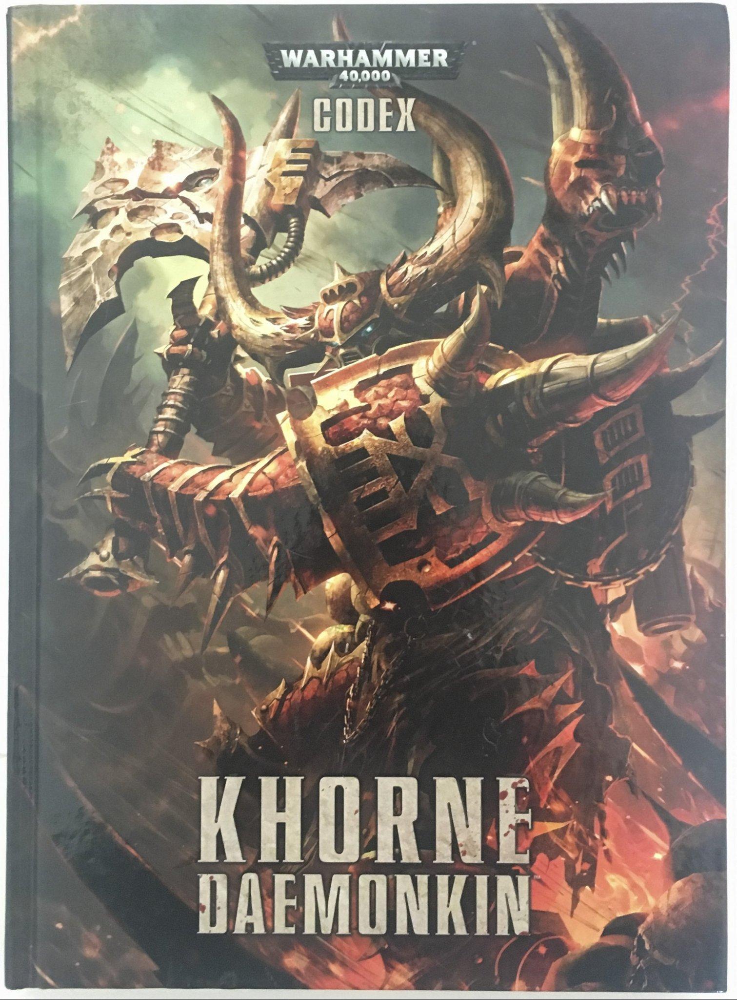 Khorne Daemonkin Warhammer 40k Codex (361067098) ᐈ Köp på Tradera