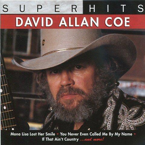 David Allan Coe -Super hits CD Outlaw cou   (286806235) ᐈ TPLrec på