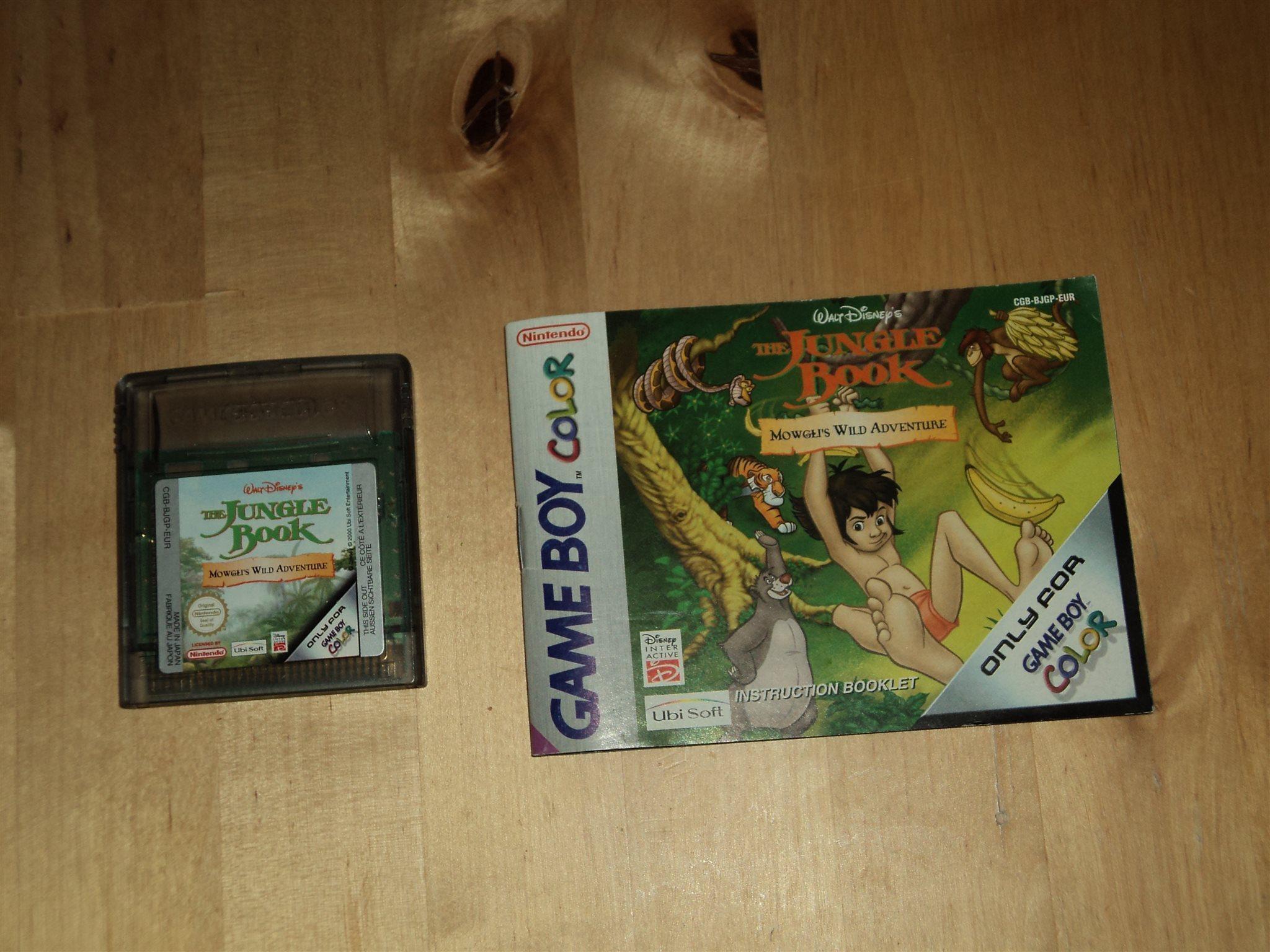 Gameboy color jungle book - Gbc The Jungle Book