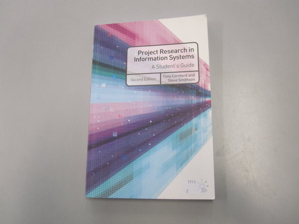 Project research in information systems - Second edition