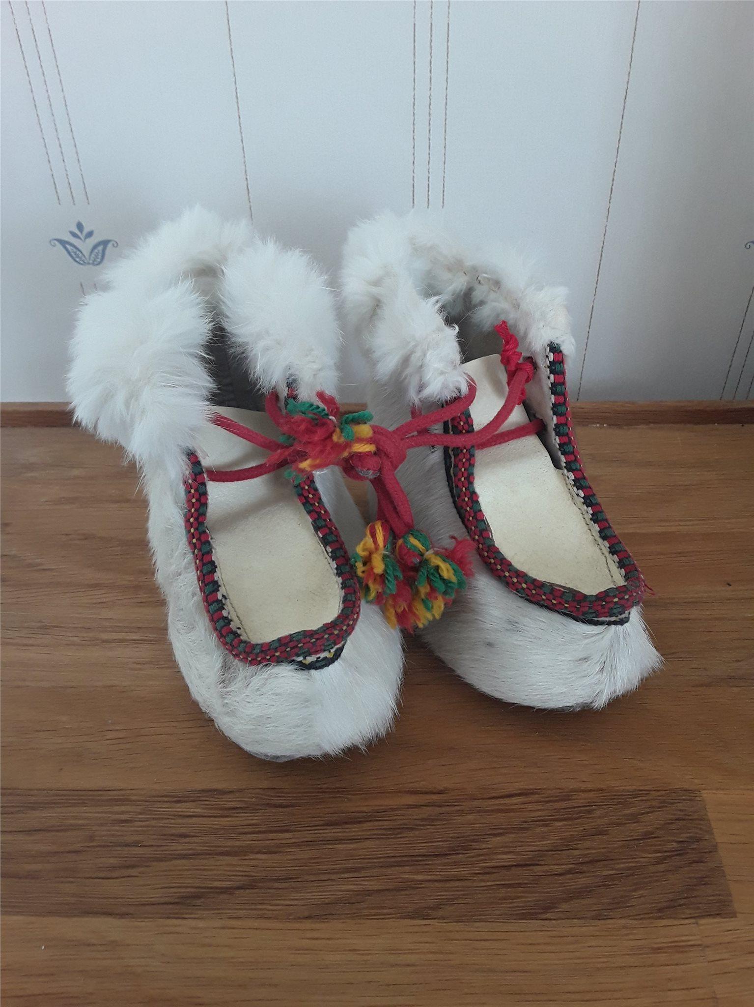 skor av renskinn