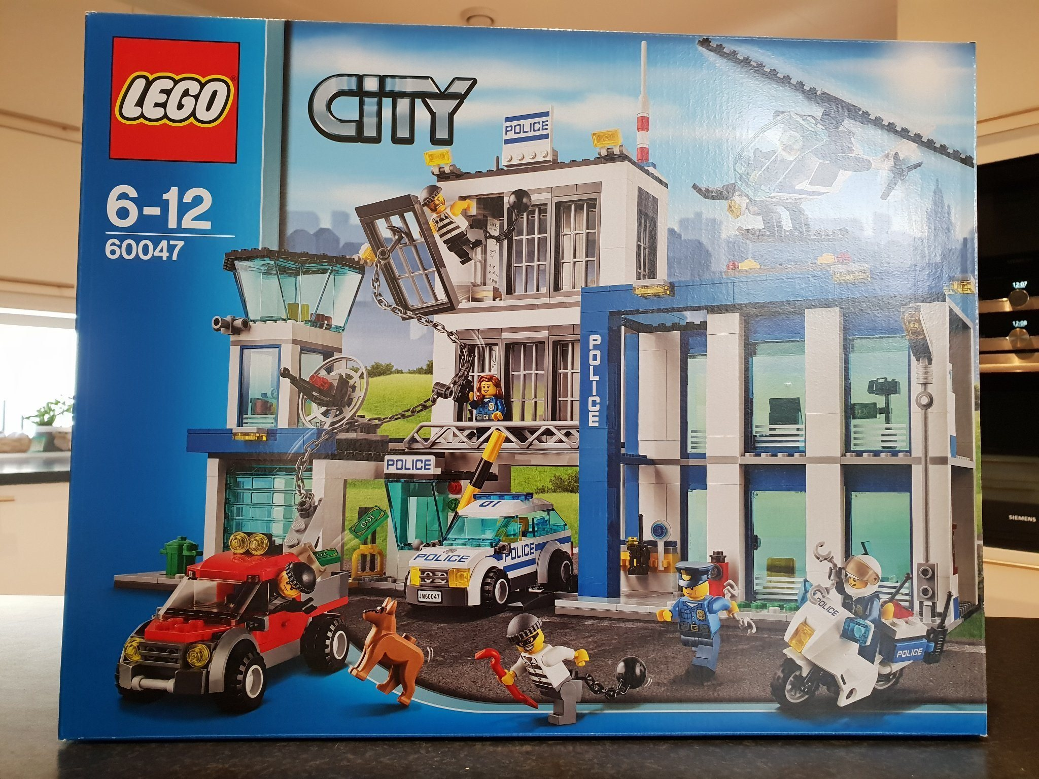 Ny oöppnad LEGO City 60047 Polisstation